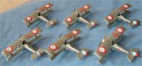 N.3 (Les Cicognes) & N.124 (Lafayette) Nieuport 17 Markings