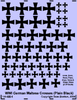 German Maltese Crosses (Plain Black)