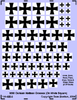 German Maltese Crosses (On White Square)